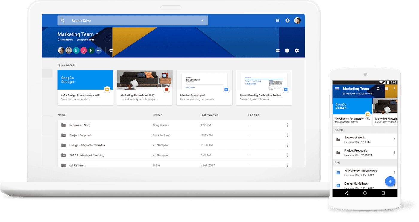 best admin tools for freelance writers - google workspace (g suite)